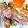 grilled pork spring rolls