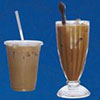 iced or hot french coffee with condensed milk